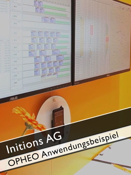 Initions AG - Anwendungsbeispiel OPHEO Software für Transportmanagement und Telematik