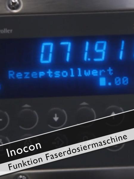 Inocon - Wie funktioniert die automatische Faserdosierungsmaschine