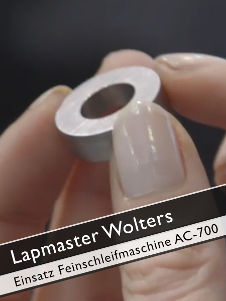 Lapmaster Wolters Einsatzbereich Feinschleifmaschine AC 700