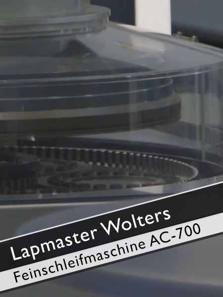 Lapmaster Wolters Feinschleifmaschine AC 700