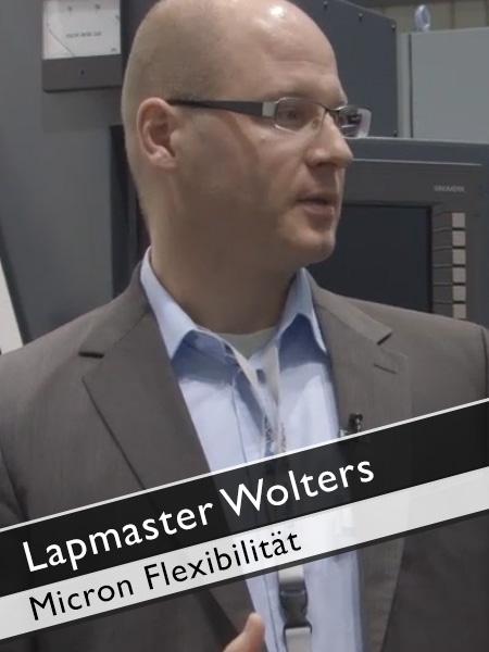 Lapmaster Wolters Flexibilität Micron Profilschleifmaschine