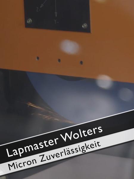 Lapmaster Wolters Zuverlässigkeit Micron Profilschleifmaschine