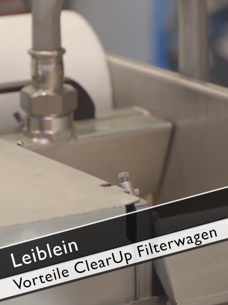 Leiblein Alleinstellungsmerkmal ClearUp Filterwagen