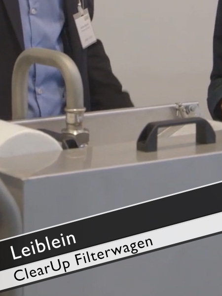 Leiblein ClearUp Filterwagen