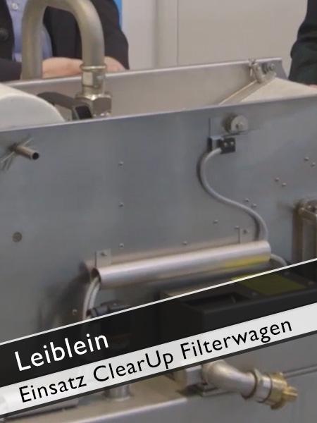 Leiblein Einsatzbereiche ClearUp Filterwagen