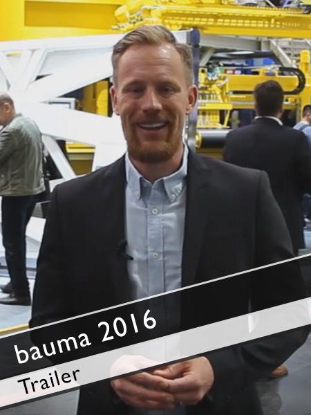 Trailer bauma 2016