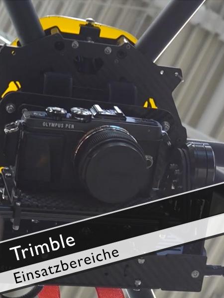 Trimble - Anwendungsgebiete Flugzeug oder Copter