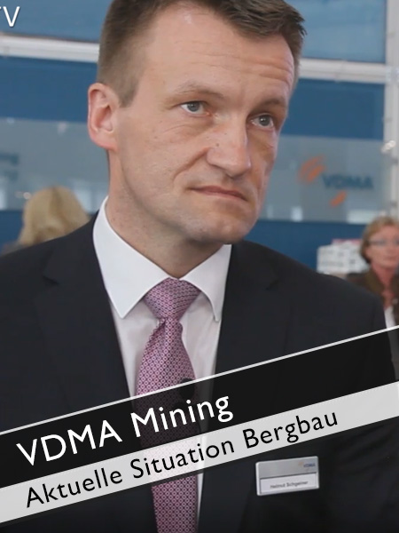 VDMA Mining - Aktuelle Situation im Bereich Bergbau