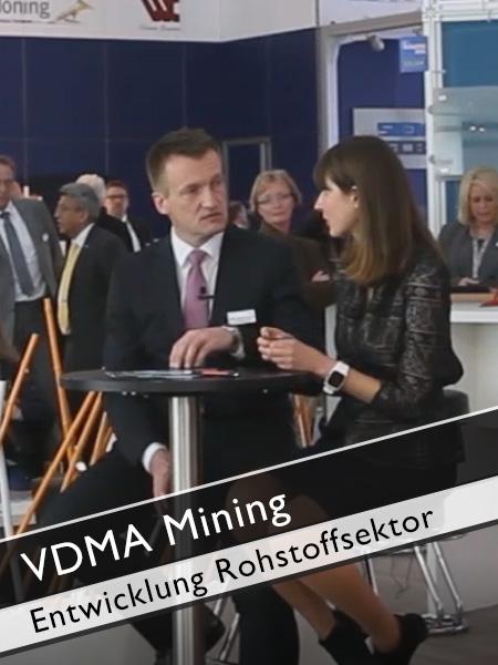 VDMA Mining - Einschätzung Entwicklung im Rohstoffsektor