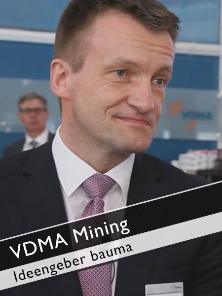VDMA Mining - Inhaltliche Ideengeber bauma