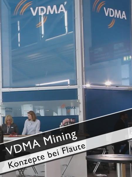 VDMA Mining - Konzepte Maschinenbaufirmen gegen Flaute im Rohstoffsektor