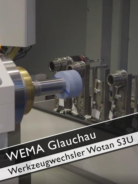 WEMA Glauchau Werkzeugwechsler Wotan S3U