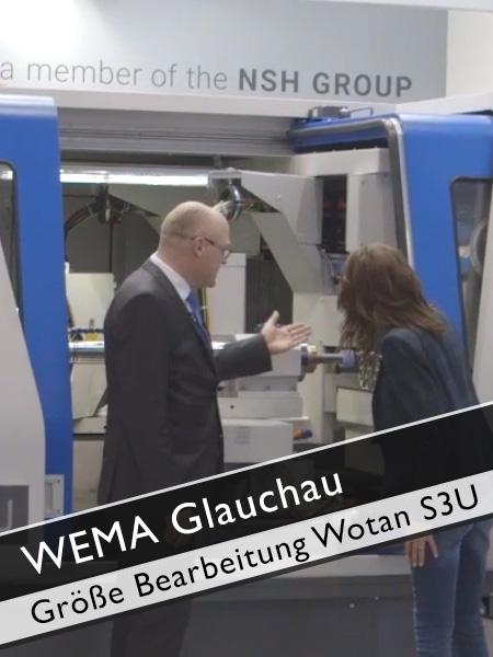WEMA Glauchau Wotan Größe Bearbeitung Bauteile