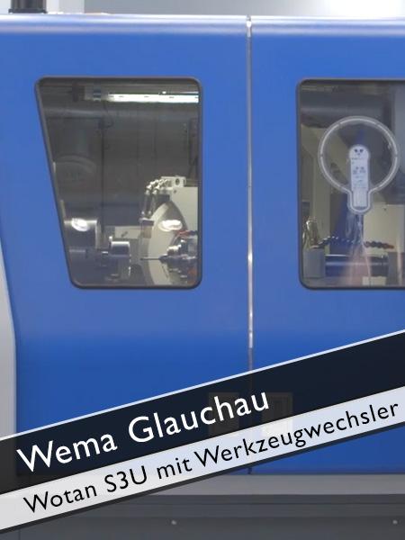 WEMA Glauchau Wotan S3U mit Werkzeugwechsler