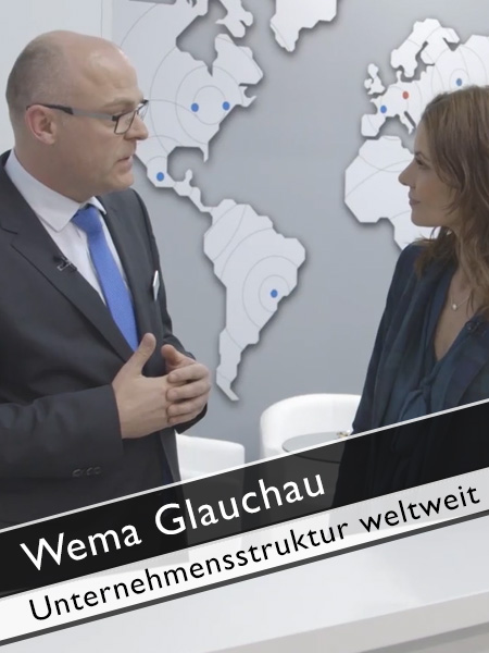 WEMA GLAUCHA weltweite Unternehmensstruktur