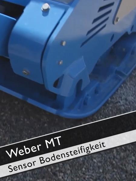 Weber MT - Sensor zur Prüfung der Bodensteifigkeit