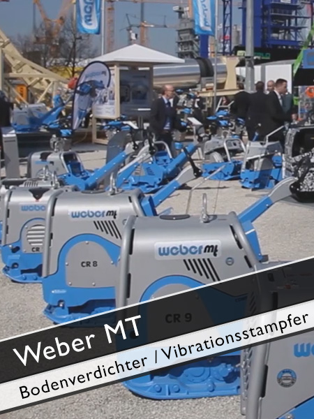 Weber MT - Vibrationsstampfer und Bodenverdichter