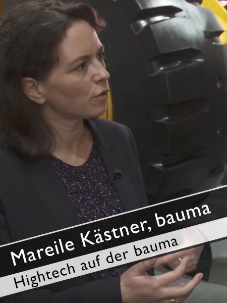 bauma - Hightech Beispiel Building Information Modeling
