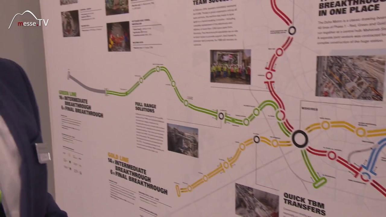 Herrenknecht - Katar Rail U-Bahn Doha Rekord Guinessbuch