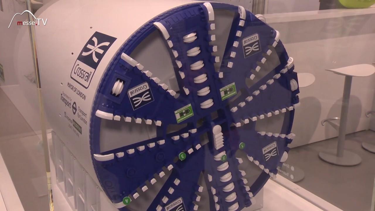 Herrenknecht - Modell einer Tunnelbohrmaschine