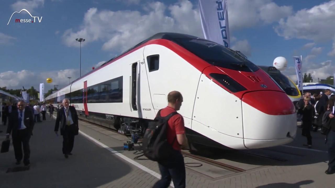 Stadler Züge - hohe Verarbeitungsqualität