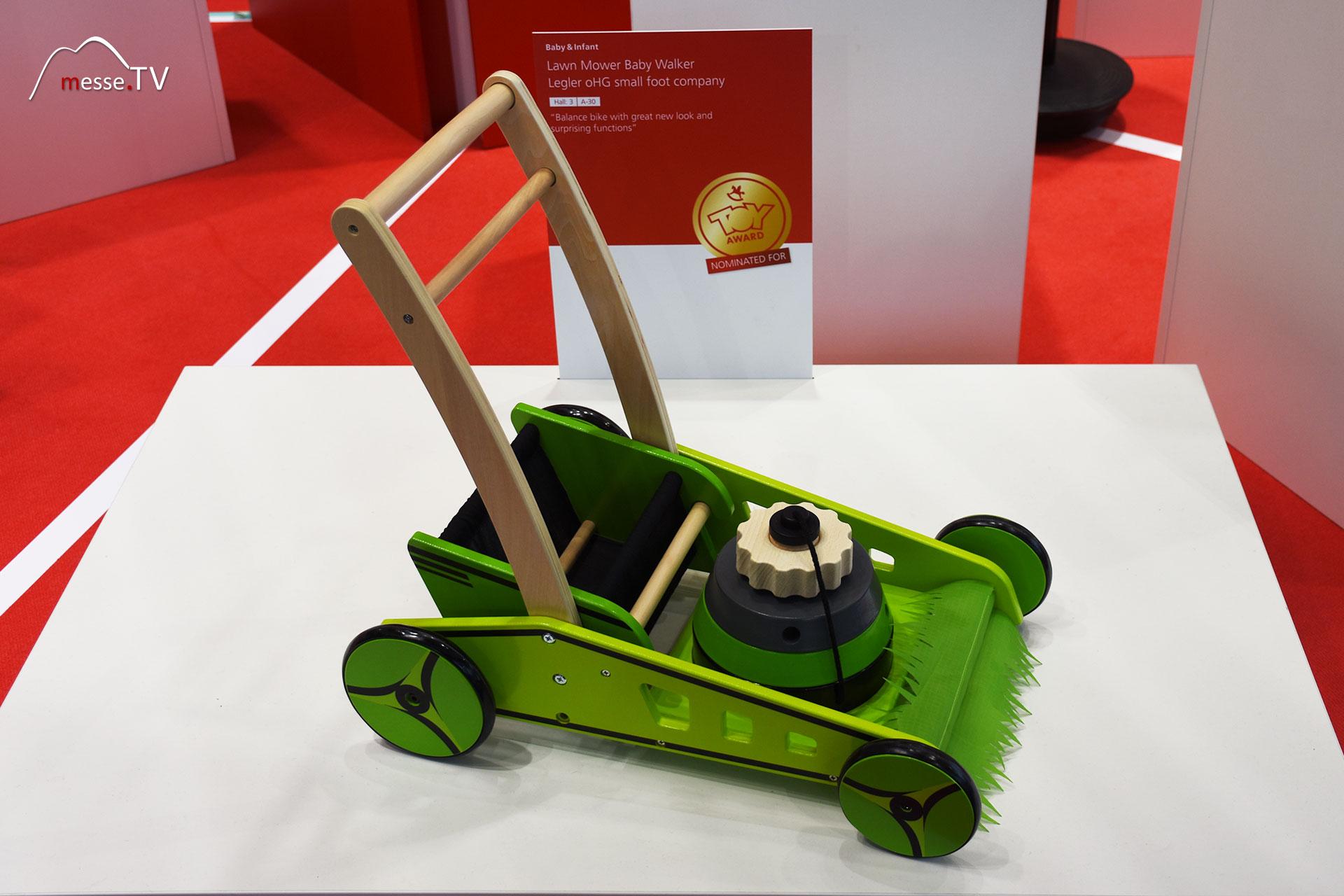 Legler small foot company - Lawn Mower Baby Walker