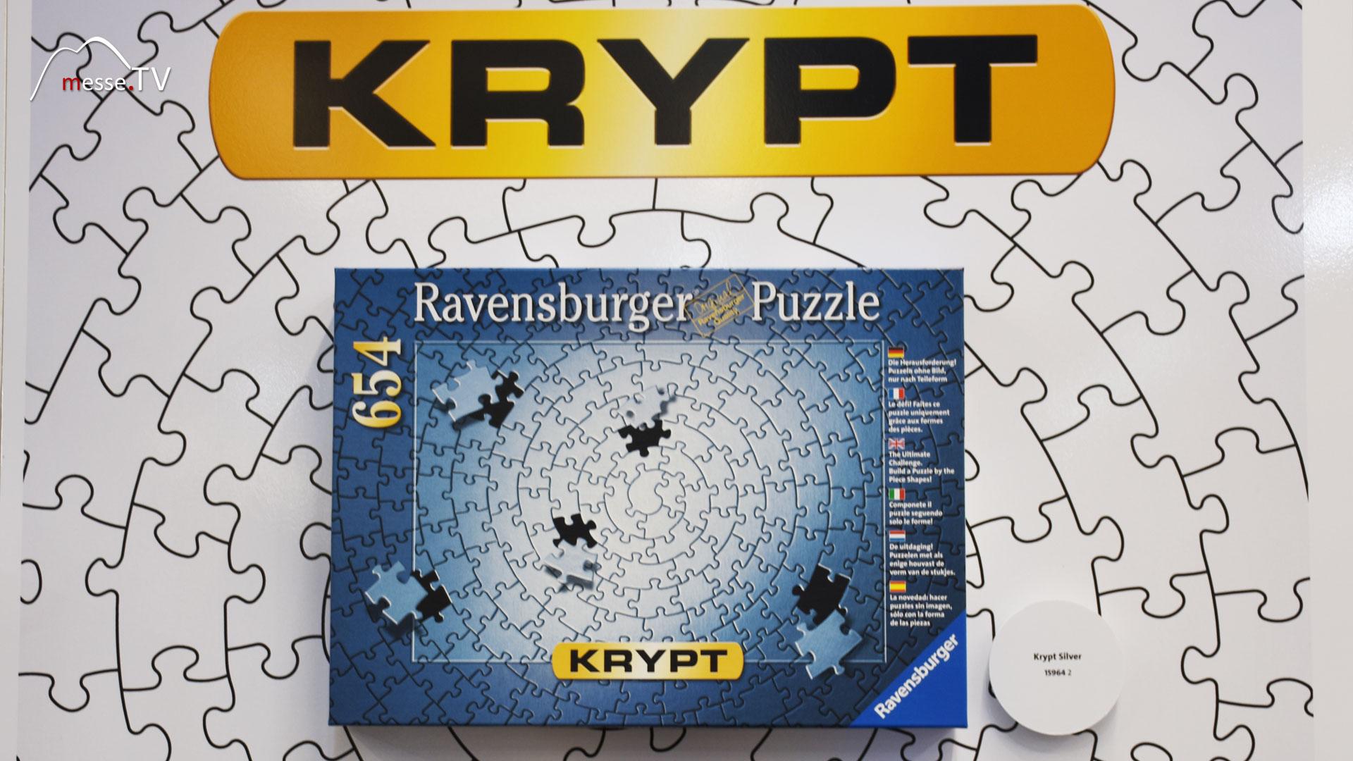 Ravensburger - Krypt Puzzle ohne Motiv