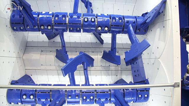 BHS-Sonthofen Doppelwellen-Chargenmischer DKX Produktion Beton
