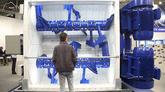 BHS-Sonthofen Doppelwellen Chargenmischer DKX