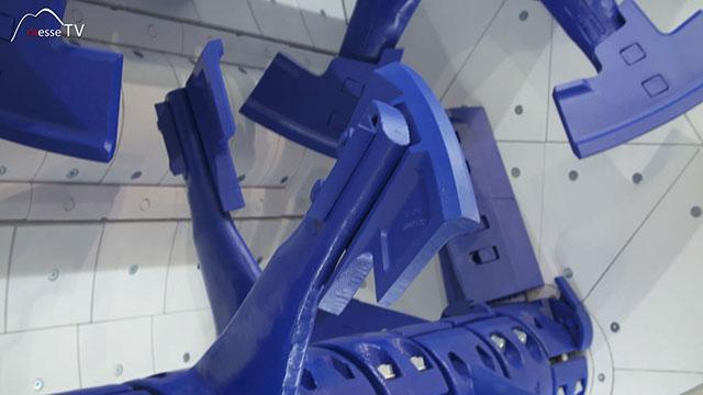BHS-Sonthofen Doppelwellen-Chargenmischer dreidimensionale Mischung