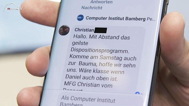CIB Mobil Dispositionsprogramm Kundenresonanz soziale Medien