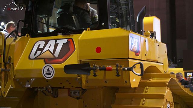 Caterpillar Dieselelektrischer Bulldozer D6XE Rückseite