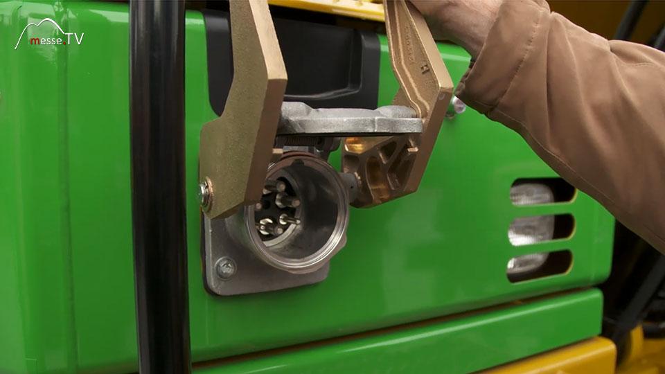 Caterpillar Pon elektrischer Bagger 323F Z-Line 120KW Leistung