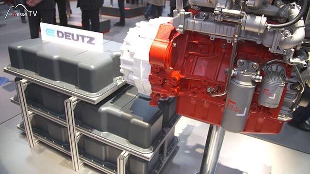 DEUTZ Hybridantrieb mit Batteriepackage 100 KW