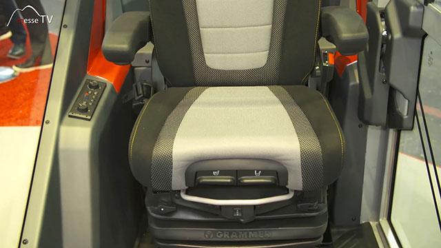 FRITZMEIER Global Cab Fahrerkabine Aluminium Fahrersitz