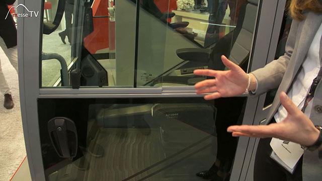 FRITZMEIER Global Cab Fahrerkabine Aluminium mit Schiebetür