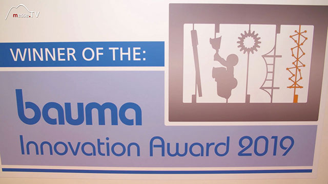 FRITZMEIER Innovationspreis Innovation Award bauma 2019 München