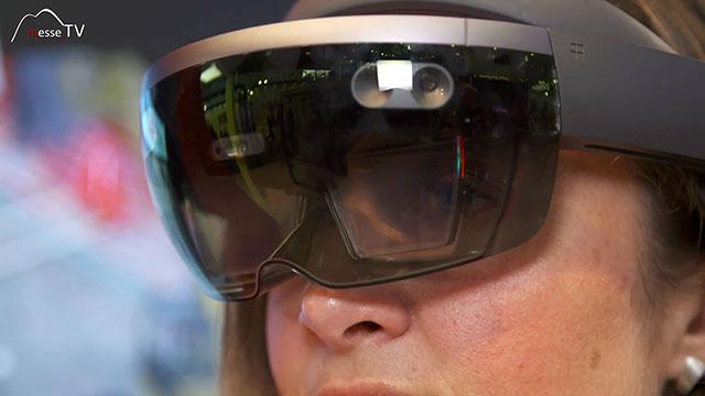 FRITZMEIER Sicherheit Baustelle Informationen an Fahrer per Augmented Reality Brille