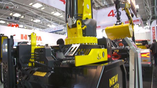 HYVA Krane für Bergbau, Wartung, Bauwesen und Fahrzeugbergung