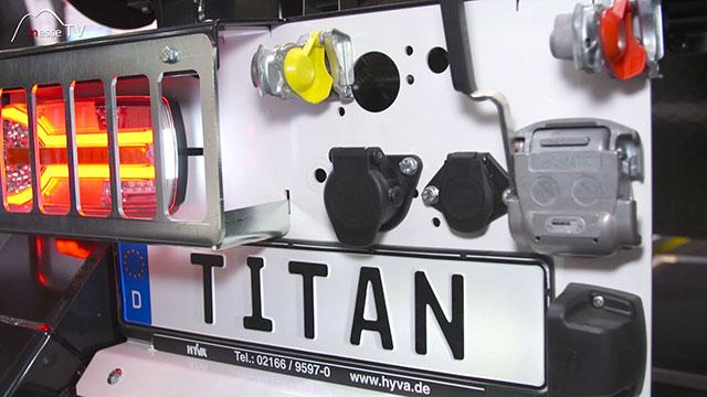 HYVA TITAN Absetzkipper mit Abnetzsystem