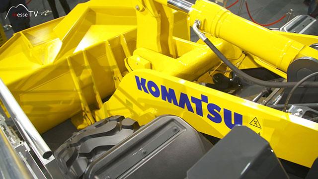 KOMATSU Radlader WA475-10 Detailansicht