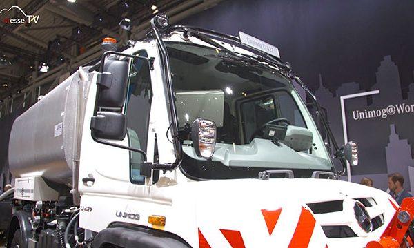 Mercedes-Benz: Unimog Geräteträger, bauma 2019