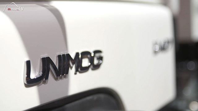 Mercedes-Benz Unimog bauma 2019 München