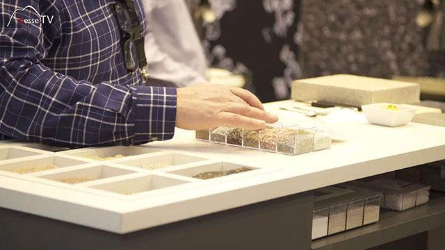ROEHRIG granit Herstellung Sande Splitter