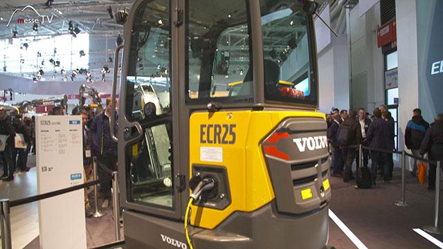 VOLVO Kompaktbagger ECR25 Null Emission