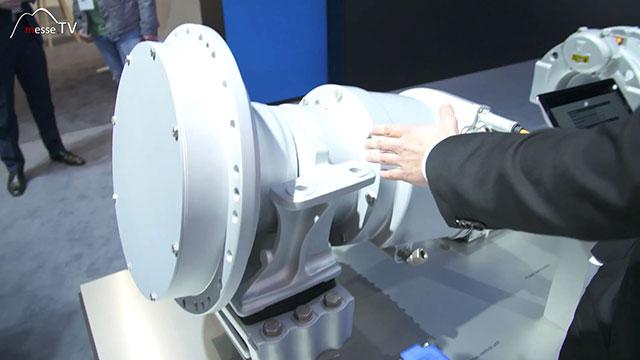 ZF Friedrichshafen Mischertrommel elektrischer Antrieb