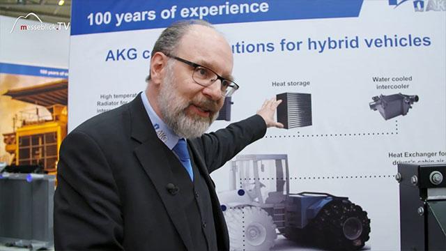 AKG: Thermotechnik Lösungen für hybride Fahrzeuge, bauma 2019