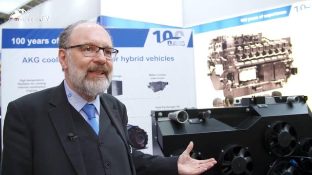 AKG Thermotechnik: Spezifische Lösungen, bauma 2019