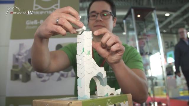 Ankenstein: Gips Bausteine - Spielwarenmesse 2019