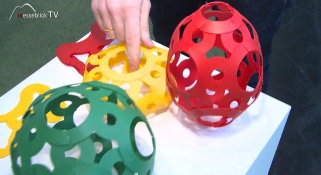 Ball Puzzle-Bausatz, Foooty – Spielwarenmesse 2018